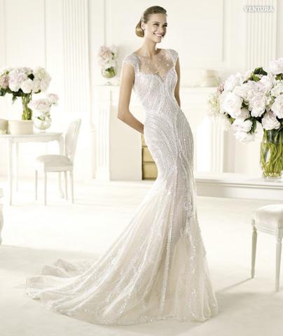 Mit einem Meerjungfrau-Brautkleid zur Hochzeit - Wunsch-Brautkleid