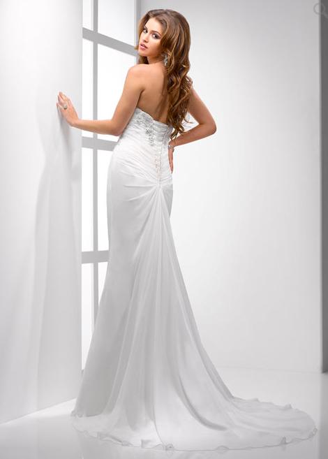 Rückenfreie Brautkleider - zum Entzücken - Wunsch-Brautkleid