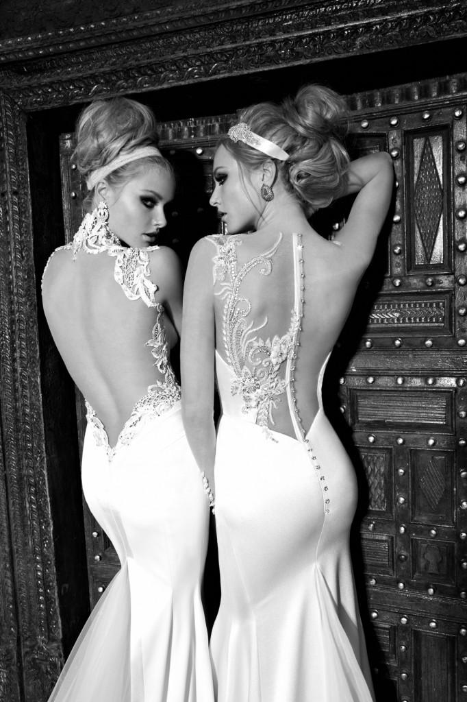 Hochzeitskleider rückenfrei bis zum po  Hochzeitskleid