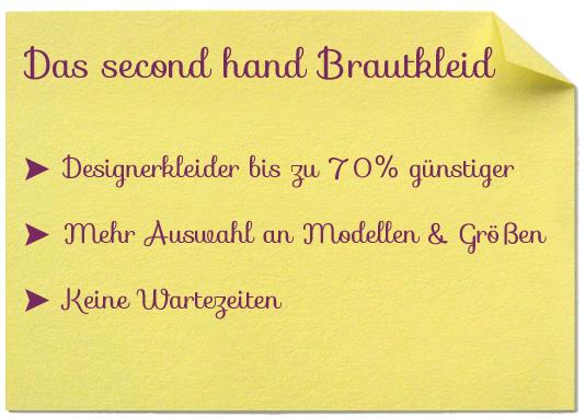 Das second Hand Brautkleid