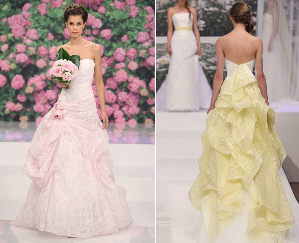 Brautkleid brautkleider creme : Weiße Brautkleider - Eine Farbe des Teints