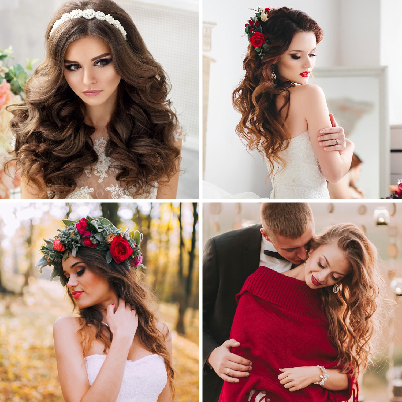 Lockige Brautfrisuren Trends 2018 19 Einfach Zum Verlieben