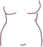 Brautkleider Problemzonen - korpulente Figur
