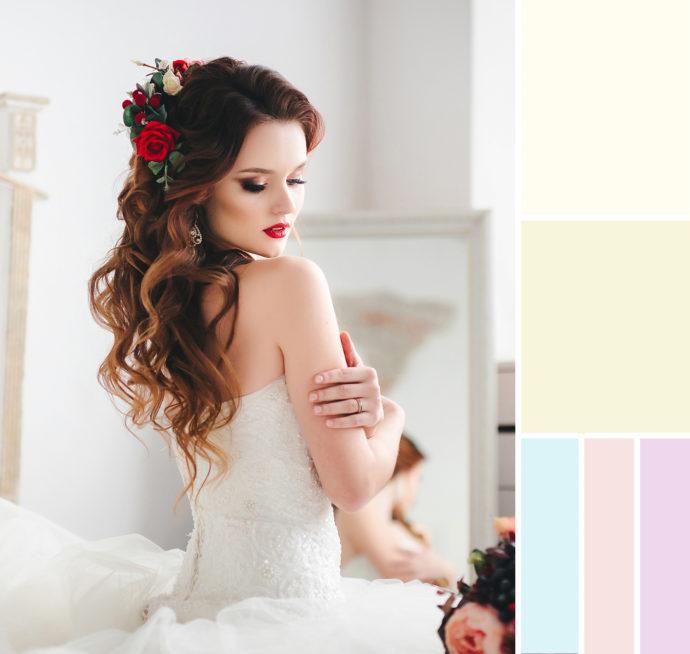 Das Brautkleid in Weiß - Welches Weiß passt zu meinem Hauttyp?