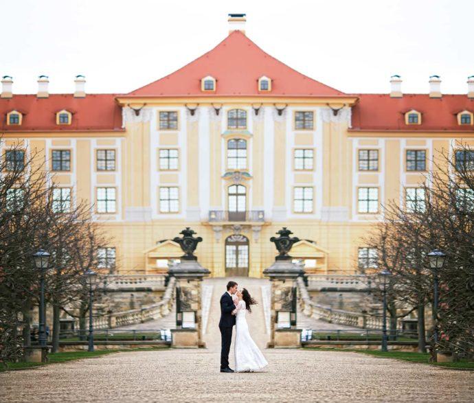 Hochzeitslocation in einem Schloss
