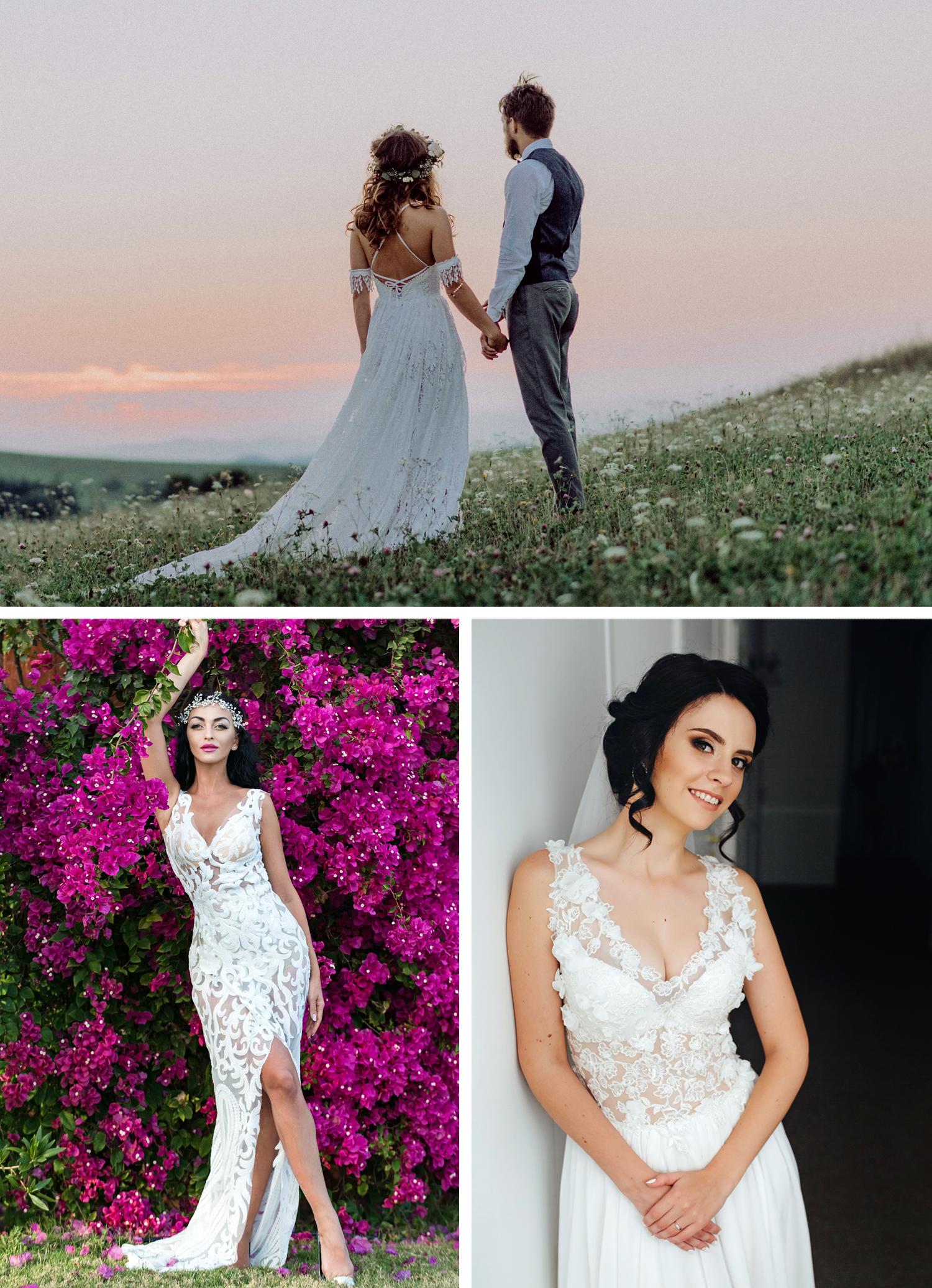 buy online 3b6bf 01092 Das Richtige Sommer Brautkleid: luftig, fröhlich, erfrischend