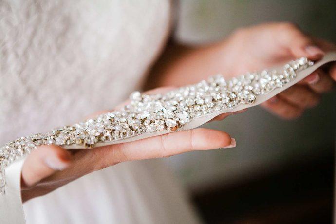 Taillengürtel für das Brautkleid