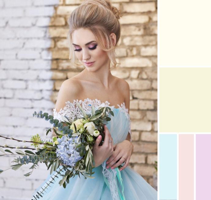 Weißes Brautkleid