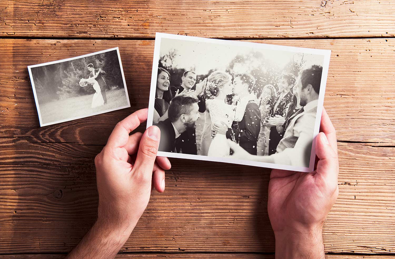 Erster Hochzeitstag Erinnerung