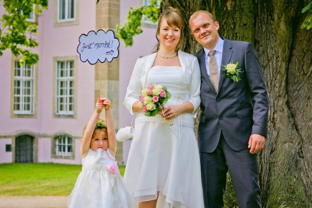Hochzeitsfoto im Reportage Stil Brautpaarshooting