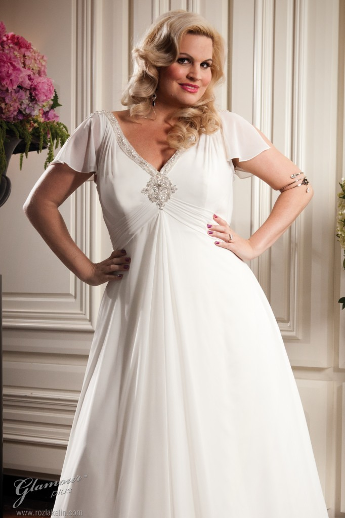 Brautkleid in Übergröße - Roz la Kelin