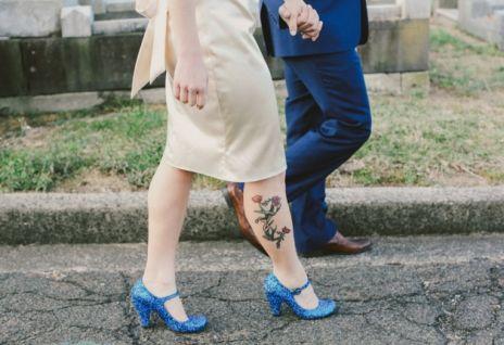 Rasur zur Hochzeit Wunsch Brautkleid (1)