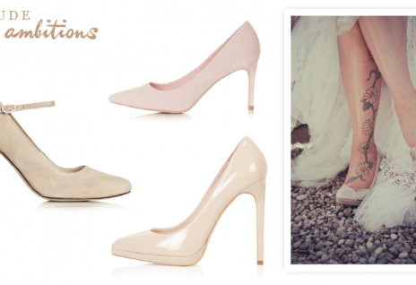 Brautschuhe für den Herbst 2014 Wunsch Brautkleid (2)