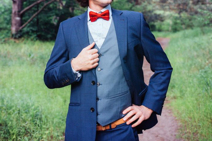 Anzug für die Hochzeit