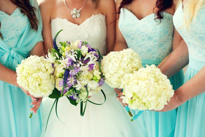 Brautjungfernkleid