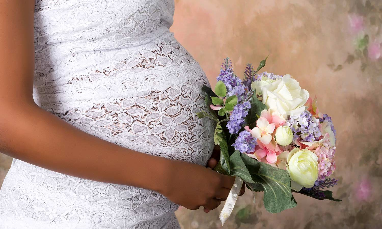 im brautkleid schwanger heiraten - 6 tipps für werdende mamis