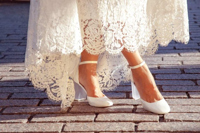 Brautschuhe Sommer