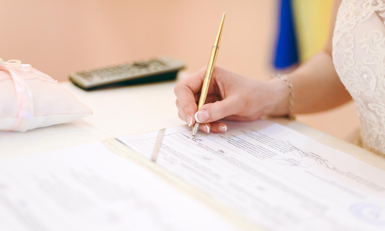 Brief Für Namensänderung : Checkliste namensänderung nach der hochzeit