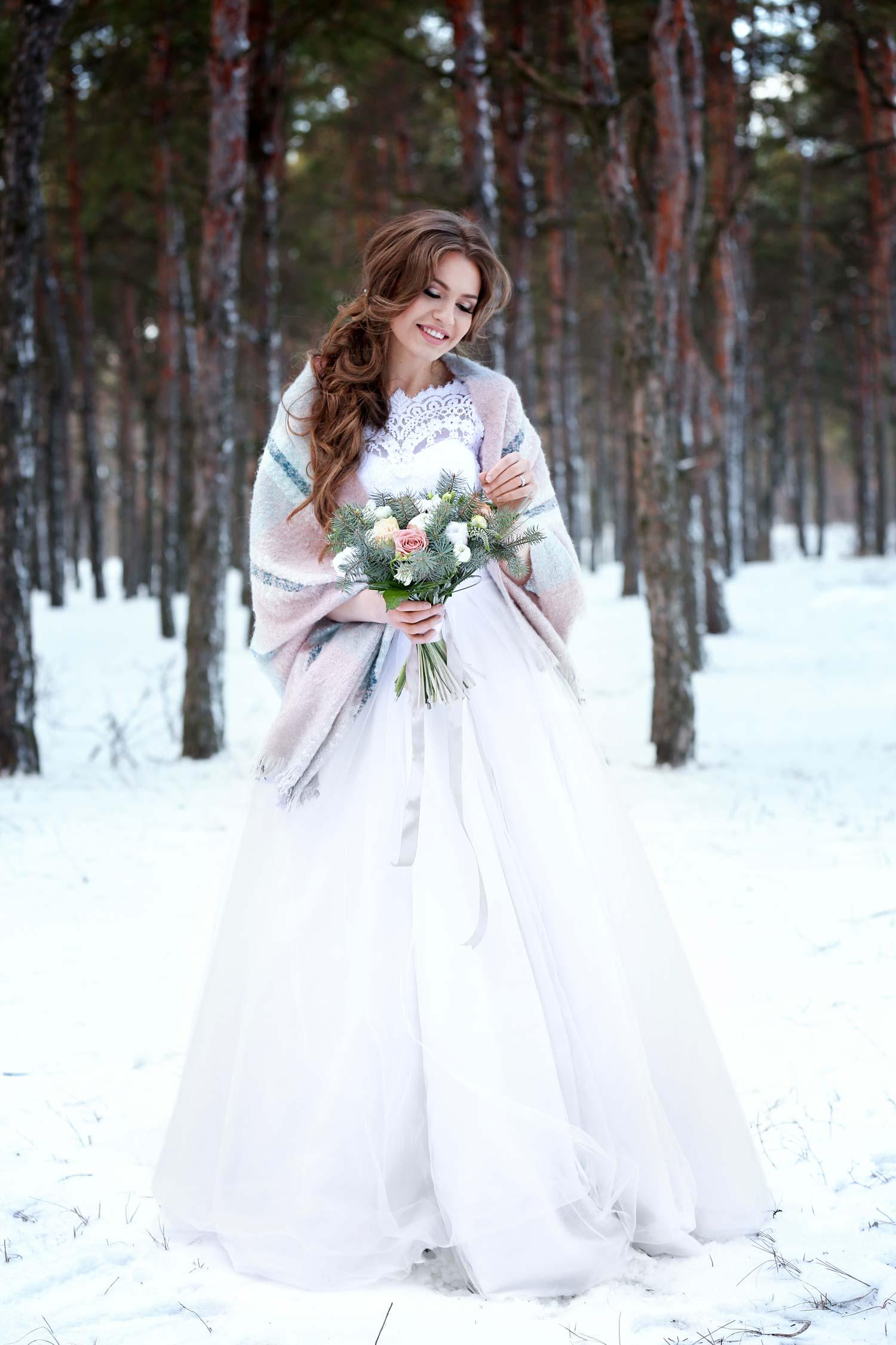 29 zauberhafte Gründe in einem Winter Brautkleid zu Heiraten!