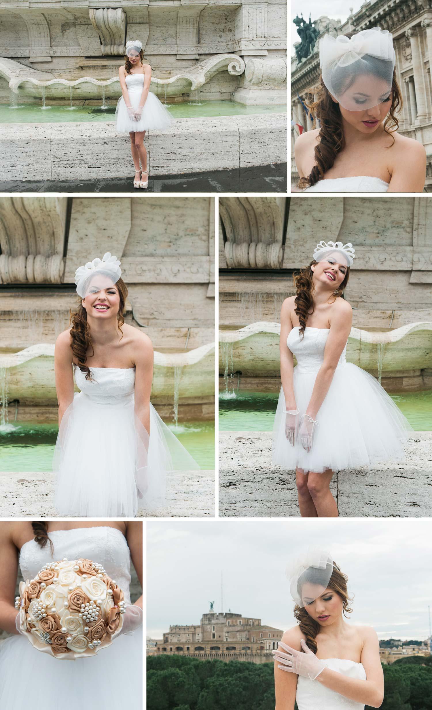 Perfektes Styling für euer Brautkleid im 50er Jahre Style!