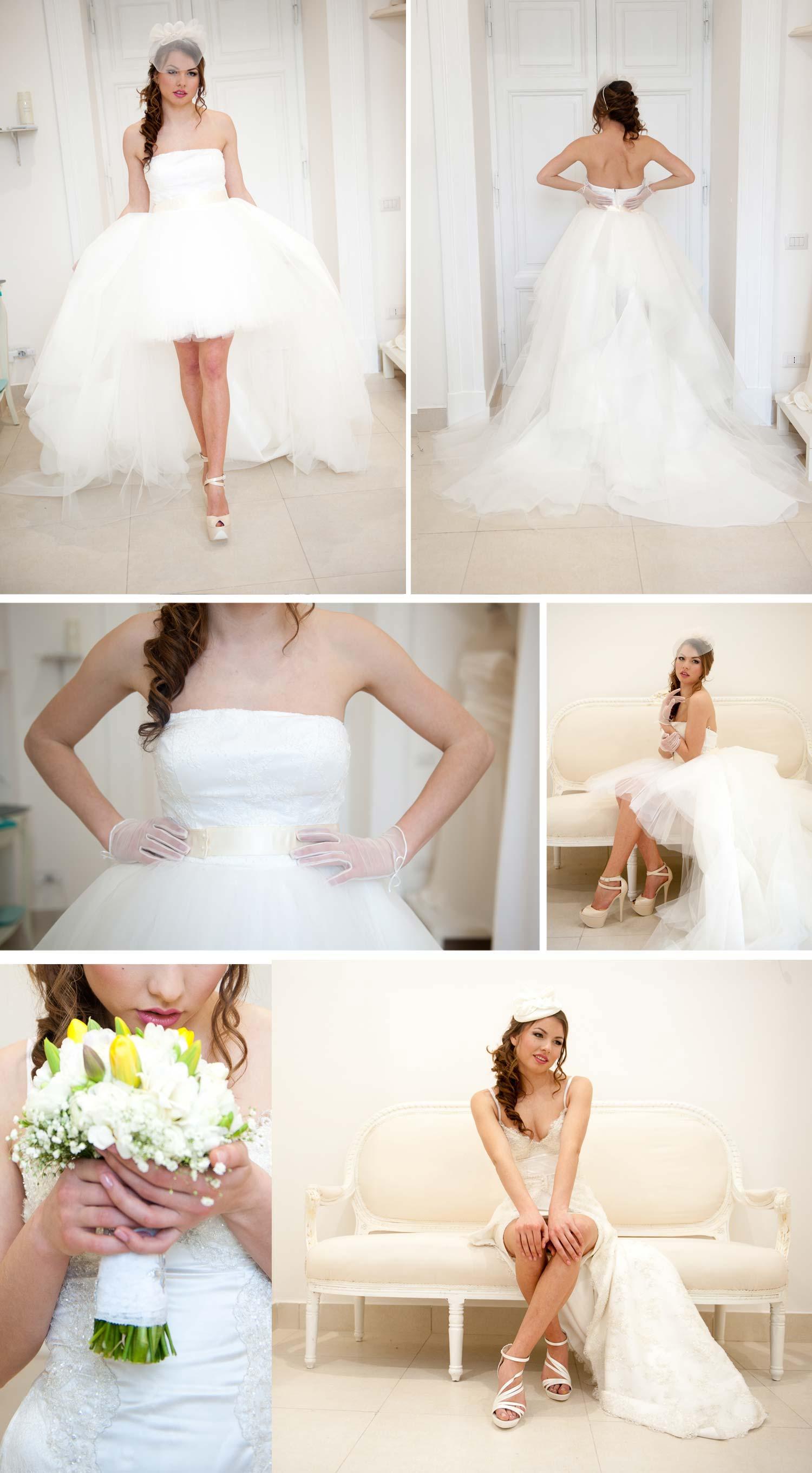 Perfektes Styling für euer Brautkleid im 16er Jahre Style!