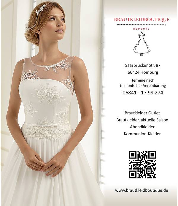 Brautkleid Handler Brautkleidboutique Outlet 66424 Homburg